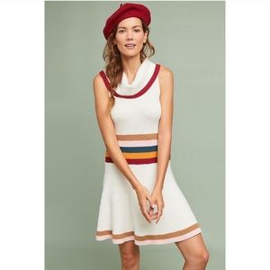 Anthropologie Maeve Sporty Cowl Neck Dress ❣️
